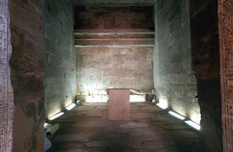 وزارة السياحة والآثار تنتهي من أعمال ترميم وتطوير معبد إيزيس بأسوان