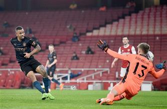 «لاكازيت» يسجل هدف التعادل لأرسنال أمام مانشستر سيتي في كأس الرابطة