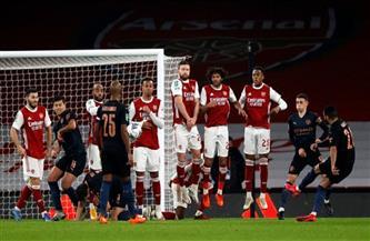 «محرز» يسجل هدف التقدم لمانشستر سيتي أمام آرسنال