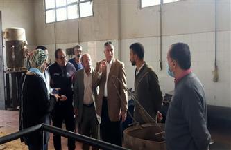 رئيس جهاز مدينة القاهرة الجديدة يتفقد روافع الصرف الصحى للتأكد من جاهزيتها