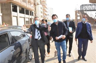 محافظ الغربية ونائبه يتفقدان أعمال الرصف والتطوير بطنطا | صور