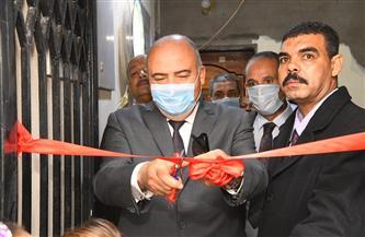 افتتاح مركز خدمة المواطنين المطور لتقديم الخدمات التموينية بمركز دشنا   صور