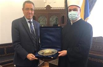 سفارة مصر فى البوسنة والهرسك تهدى المشيخة البوسنية كتبًا لتعليم اللغة العربية