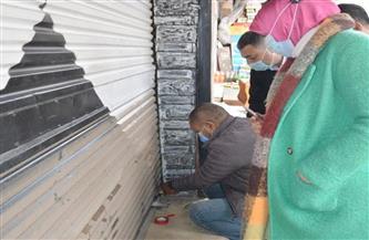 حملة على المطاعم والمقاهي غير الملتزمة بالإجراءات الاحترازية في الإسكندرية | صور