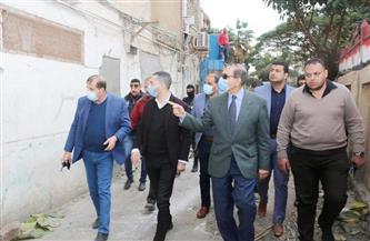 محافظ كفر الشيخ يتفقد حملة لإزالة التعديات وفتح شارع  ظل مغلقًا عشرات السنوات | صور