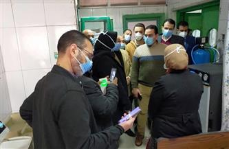 توفير خدمة الغسل الكلوي داخل العناية المركزة بمستشفى كفر الشيخ العام | صور