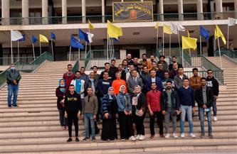 نائب رئيس جامعة أسيوط يعلن عن عقد دورات تدريبية لأعضاء اتحاد طلاب الكليات | صور