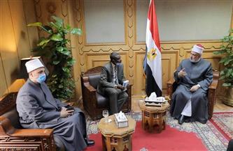 وكيل الأزهر يستقبل وزير الأوقاف السوداني لبحث سبل تعزيز التعاون المشترك