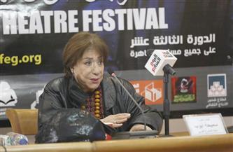 """سميحة أيوب: أسست جبهة مسرحية """"لما عبرنا قناة السويس"""" وعملنا """"شدي حيلك يا بلد""""   صور"""