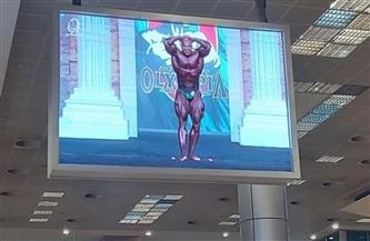 مطار القاهرة يحتفل بوصول البطل العالمي بيج رامي