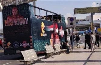 ننشر الصور الأولى للأتوبيس المكشوف الذي يجوب بـ «بيج رامي» شوارع القاهرة