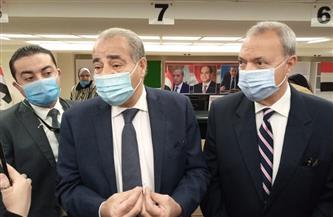 وزير التموين ومحافظ القليوبية يفتتحان مركز خدمة المواطنين المطور في شبرا الخيمة  صور