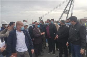وزير النقل يتفقد ميناء سفاجا البحري   صور