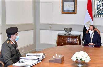 الرئيس السيسي يتابع التدفقات المالية للشركات المدنية المكلفة بتنفيذ المشروعات القومية على مستوى الجمهورية