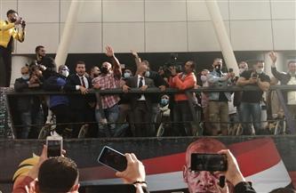 «بيج رامي» يحتفل مع الجماهير في «أتوبيس مكشوف» | صور
