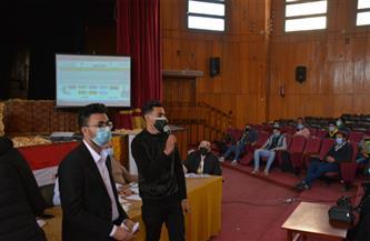 «أبو الحسن» رئيسًا لاتحاد طلاب جامعة بورسعيد.. و«عبد القادر» نائبًا | صور