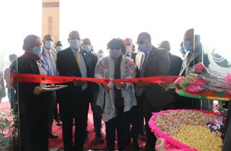 «عبدالدايم» في افتتاح معرض جامعة أسوان الأول للكتاب: المعارض تحقق العدالة الثقافية | صور