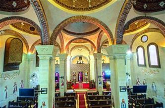 إعادة تطوير وتأهيل محيط كنيسة السيدة العذراء بسخا في كفر الشيخ