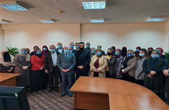 محافظ بورسعيد يطالب بتوفير كافة التسهيلات للشباب من صغار المستثمرين بالمنطقة الصناعية  صور