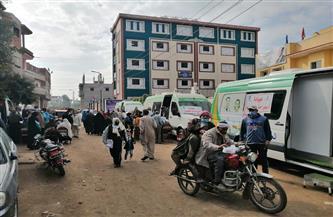 الكشف على 2000 مواطن في قافلة طبية شاملة في قرية كرم ورزوق بدمياط| صور