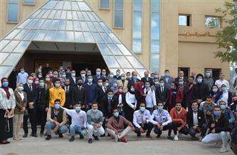 «حمادة» رئيسًا لاتحاد طلاب جامعة الفيوم   صور
