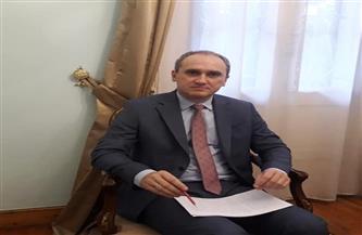 """سفير بيلاروسيا فى القاهرة لـ""""بوابة الأهرام"""": أحب الطعمية والملوخية وابنتى عاشقة للعدس"""