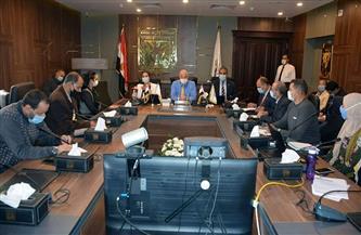 فودة يعقد اجتماعا لتفعيل بروتوكول الذاكرة المؤسسية بين المحافظة ومركز معلومات رئاسة الوزراء