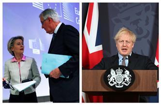 بريطانيا وأوروبا.. رحلة 5 سنوات من الشد والجذب تنتهي لـ «انفصال بالتراضي»| صور