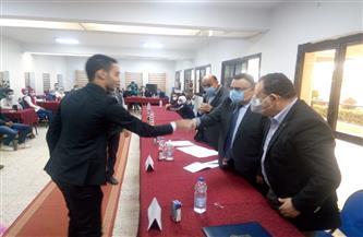 «الزربة» رئيسا و«لبيب» نائبا في انتخابات اتحاد طلاب جامعة الإسكندرية| صور