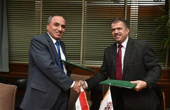 بروتوكول تعاون بين مؤسسة الأهرام وشركة جنوب القاهرة لتوزيع الكهرباء صور