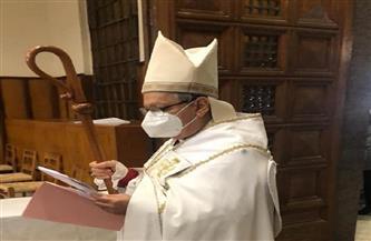 مطران الأسقفية يصلي لمصر ويشكر الرئيس السيسي على تهنئة العيد