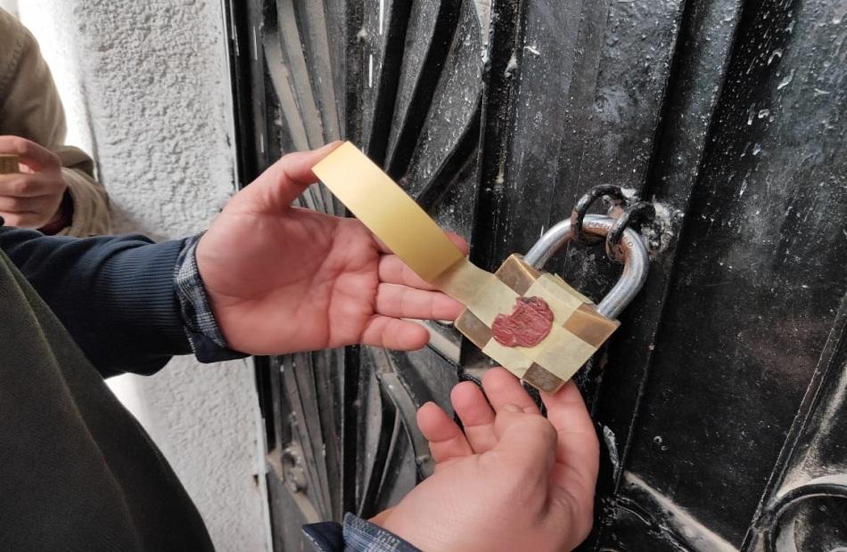 إغلاق  منشأة مخالفة للمواعيد الجديدة وتشميع  مركزا للدروس الخصوصية بالغربية