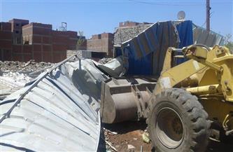 محافظة الغربية: مساعدات مالية وعينية للمتضررين من إزالة عقار خطر داهم بطنطا