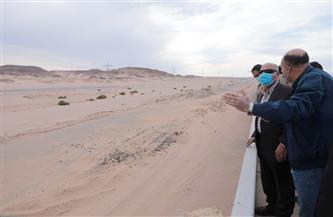 وزير النقل يتفقد مسار مشروع إعادة تأهيل خط سكة حديد(قنا/ سفاجا /أبو طرطور) ومده إلى الغردقة| صور