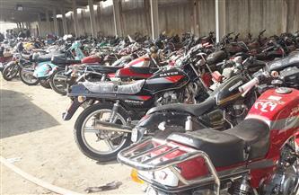 ضبط 3166 دراجة نارية مخالفة خلال أسبوع
