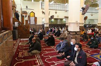 نائب محافظ السويس يفتتح مسجد الإمامين بعد التوسعة والتطوير بتكلفة 3 ملايين جنيه| صور