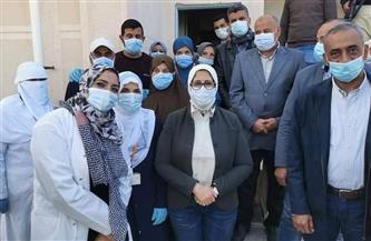 """في زيارة مفاجئة.. وزيرة الصحة تتابع جاهزية مستشفيات شمال سيناء لاستقبال مصابي """"كورونا"""""""