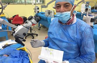 ولد بعيب خلقي.. جراحة نادرة تنقذ ذا الـ 3 أيام في مستشفى طنطا التعليمي  صور