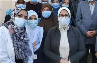 استمعت للأهالي ووجهت بتطوير مستشفى بئر العبد.. تفاصيل زيارة وزيرة الصحة لشمال سيناء