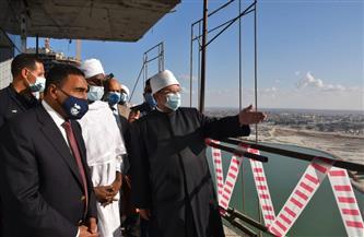وزير الأوقاف ونظيره السوداني يتفقدان مدينة العلمين الجديدة |صور