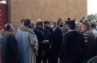 محافظ القليوبية ومدير الأمن يقدمان واجب العزاء لأسرة المستشار لاشين إبراهيم | صور
