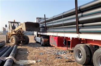 «مياه الفيوم»: استئناف مشروع الصرف الصحي المتوقف بـ«شكشوك» قريبا | صور