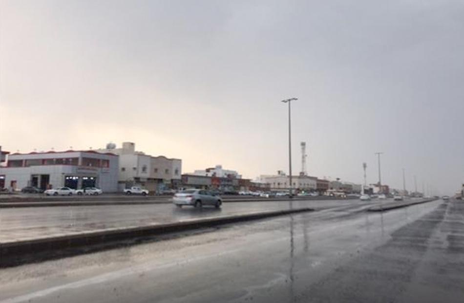 أمطار متوسطة على المناطق الشمالية بكفر الشيخ