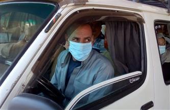 تحرير مخالفات لـ9 آلاف سائق نقل جماعى لعدم ارتداء الكمامة و840 مخالفة محلات لقرار الغلق
