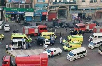 مصرع 7 أشخاص وإصابة 5 آخرين في حريق بالقليوبية.. والمعاينة: ماس كهربائي السبب