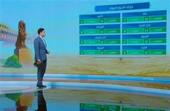 «الأرصاد»: الطقس مائل للدفء نهارًا.. شديد البرودة ليلًا   فيديو