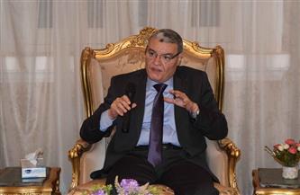 محافظ المنيا يتابع الموقف التنفيذي للمشروع القومي لتبطين وتأهيل الترع