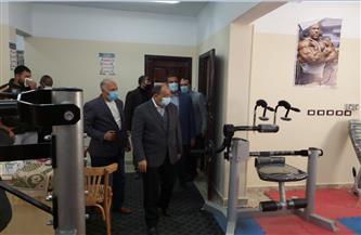 وزير التنمية المحلية ومحافظ البحيرة يتفقدان تطوير قرية عبدالحليم محمود بتكلفة 40 مليون جنيه | صور