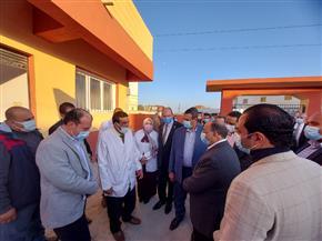 وزير التنمية المحلية ومحافظ البحيرة يتفقدان تطوير قرية زاوية صقر | صور