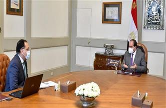 الرئيس-السيسي-يتابع-المخطط-التنفيذي-للمشروع-القومي-لتطوير--قرية
